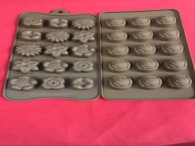 MOLDE CHOCOLATE SILICONA