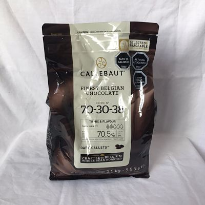 CALLEBAUT 2,5 KILO 70% CACAO