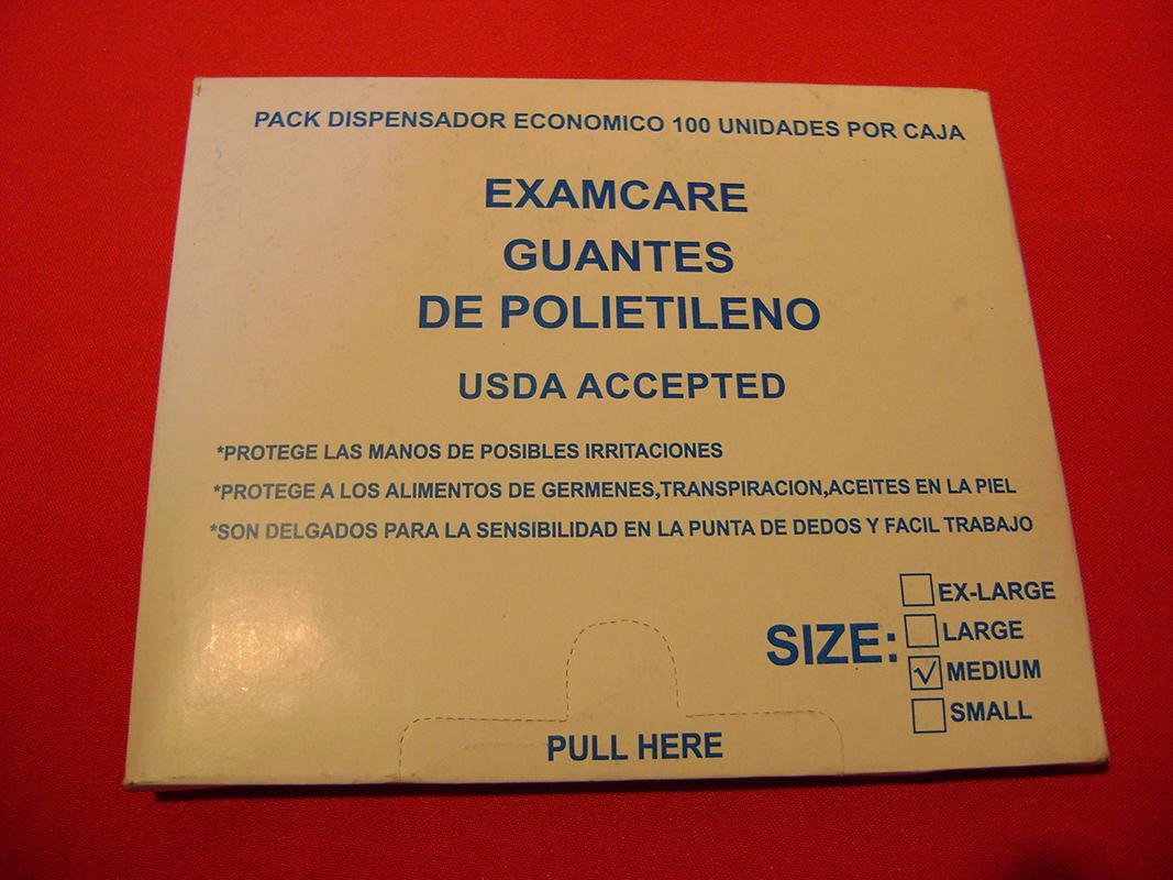 GUANTE BOLSA (100un)