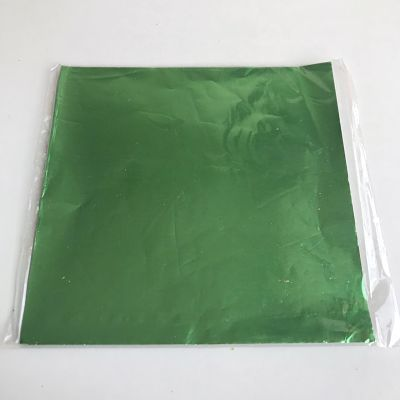 PAPEL ALFAJOR METAL VERDE X100